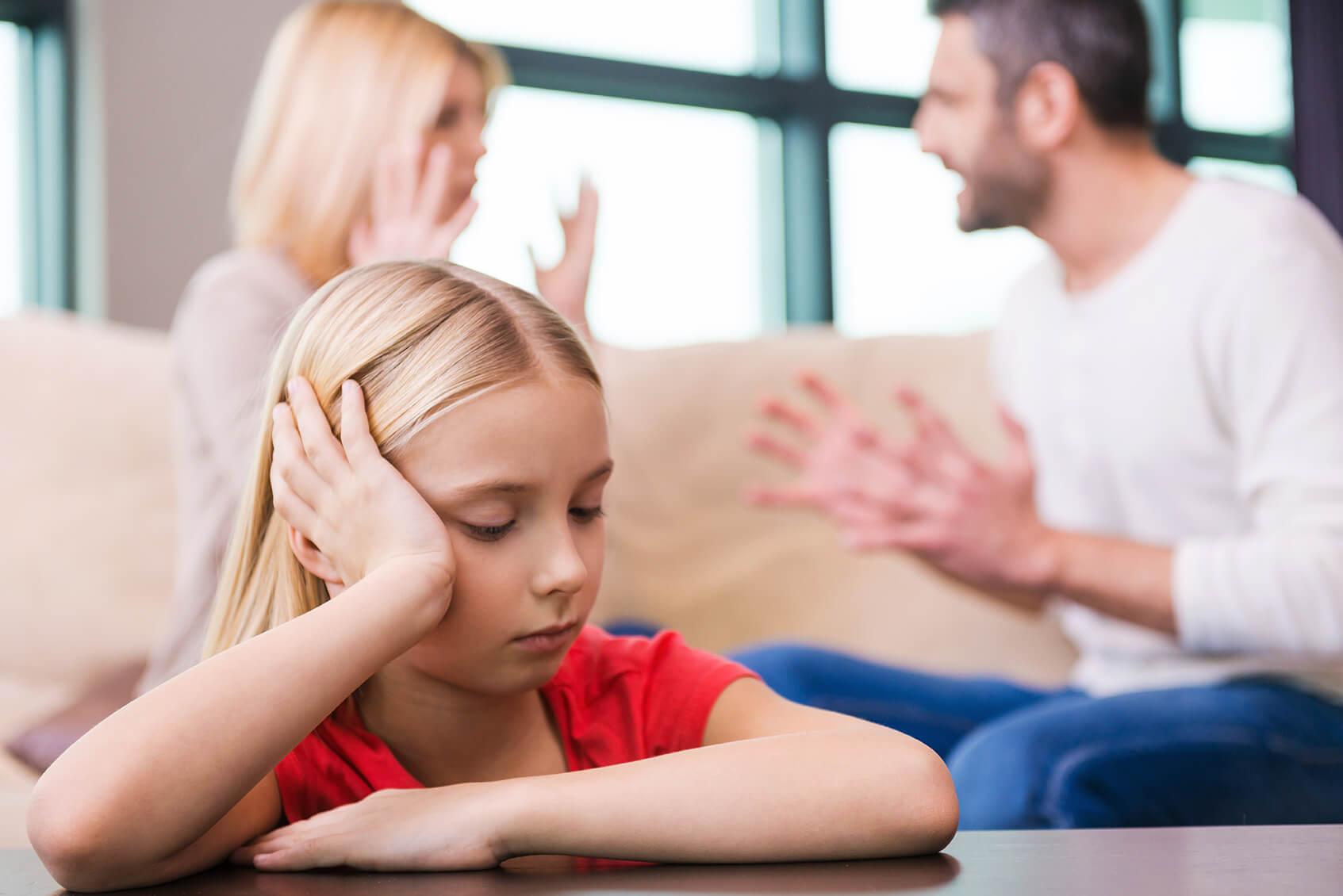Как пережить развод, если есть дети