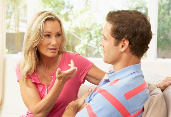 разговор с мужем необходим