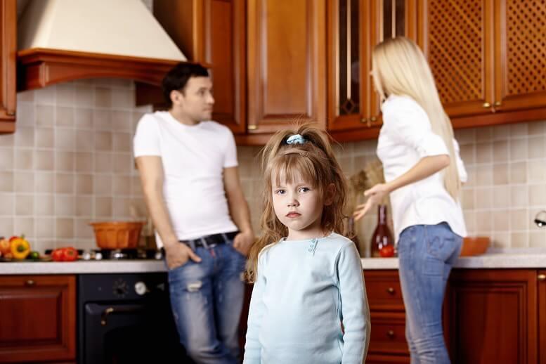 Не решайте конфликтные проблемы в присутствии детей